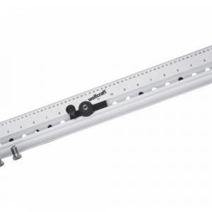 Gabarito régua calibrada furação 60 cm – Wolfcraft